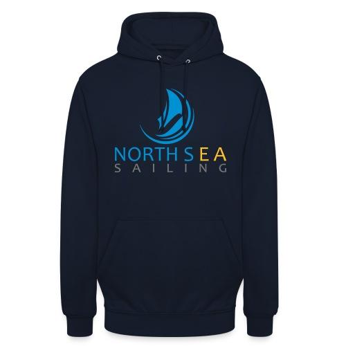 Logo couleur texte vectorise - Sweat-shirt à capuche unisexe
