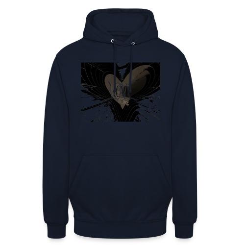 explosion d amour - Sweat-shirt à capuche unisexe