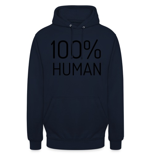 100% Human - Hoodie unisex