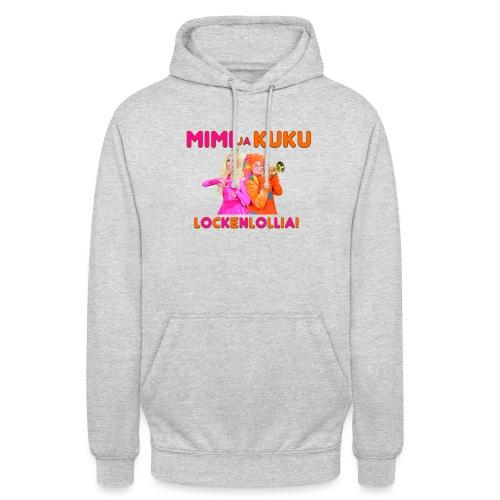 """Mimi ja Kuku Lockenlollia - Huppari """"unisex"""""""