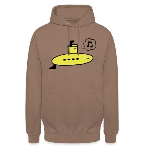 Singing Yellow Submarine - Unisex Hoodie