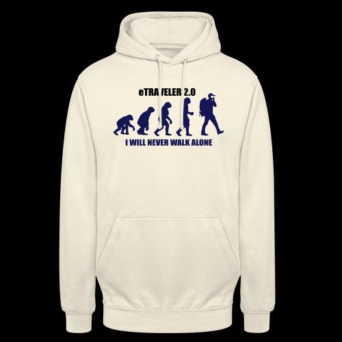 I WILL NEVER WALK ALONE - Unisex Hoodie