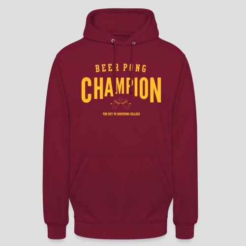 Beerpong Champion T-Shirt - Unisex Hoodie