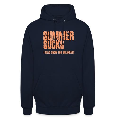 SUMMER SUCKS - Hoodie unisex