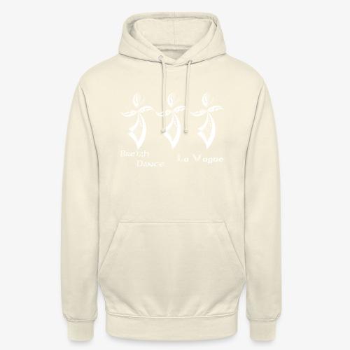 BZH Typik Design - La Vague - Sweat-shirt à capuche unisexe