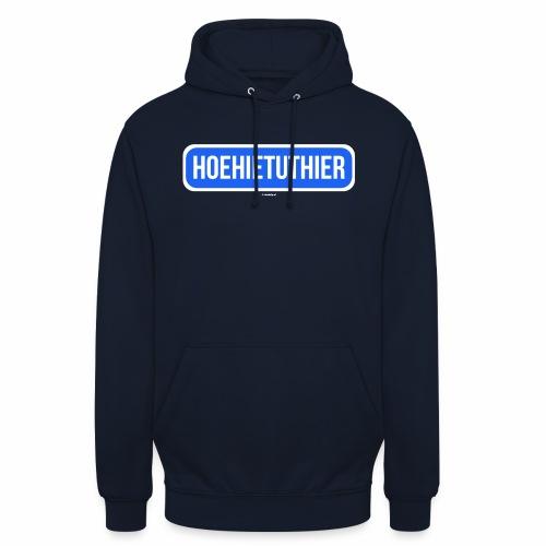 Hoehietuthier - Hoodie unisex