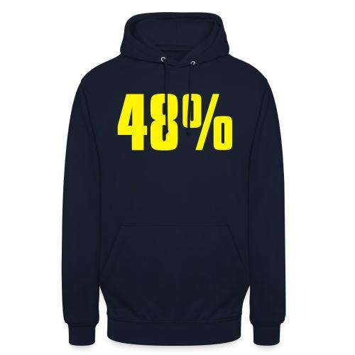 48% - Unisex Hoodie