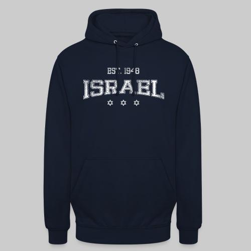 ISRAEL-white - Unisex Hoodie