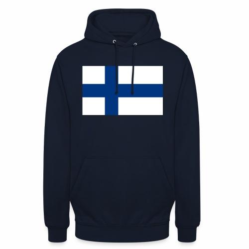 """Suomenlippu - tuoteperhe - Huppari """"unisex"""""""