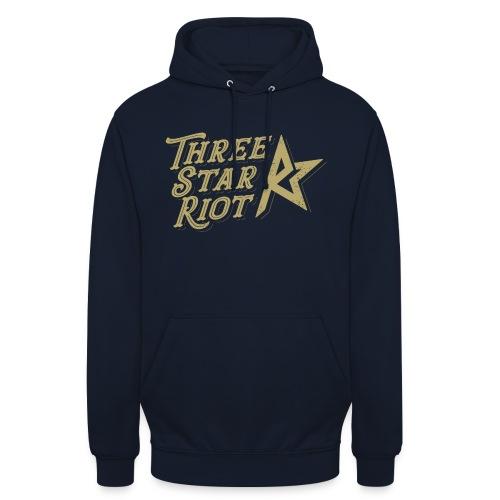 "Three Star Riot logo väri - Huppari ""unisex"""