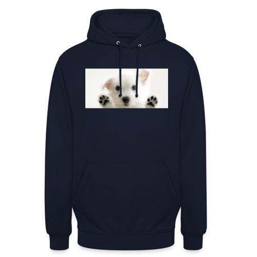 puppy - Sweat-shirt à capuche unisexe