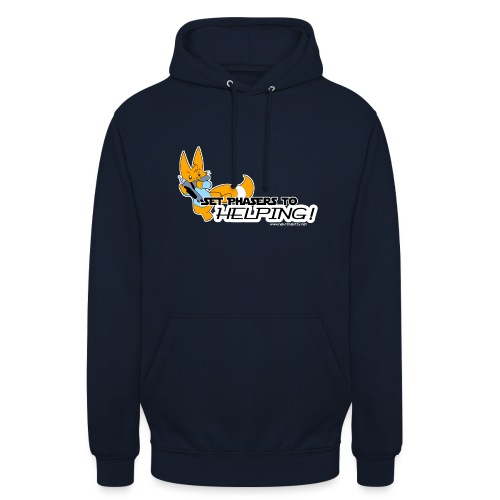 Set Phasers to Helping - Unisex Hoodie