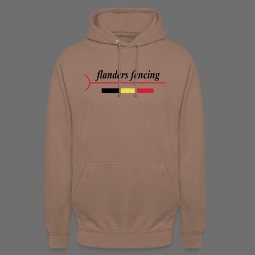Flanders Fencing BE - Hoodie unisex