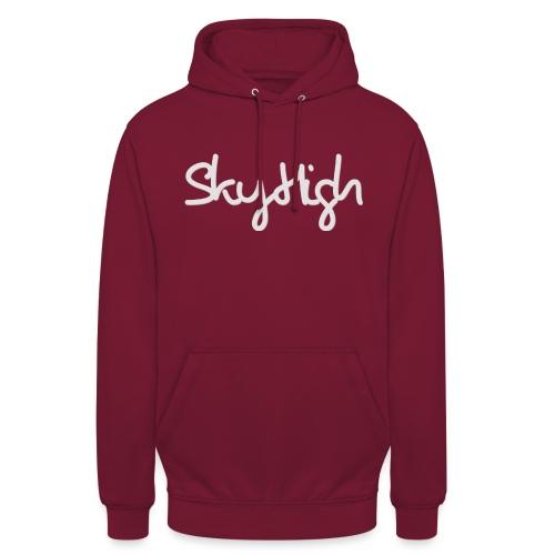 SkyHigh - Women's Hoodie - Gray Lettering - Unisex Hoodie