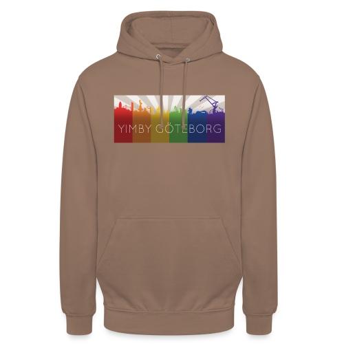 Yimby regnbågs-Tshirt - Luvtröja unisex