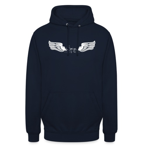 Seraph Wings white - Sweat-shirt à capuche unisexe