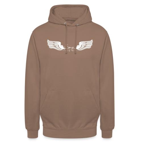 Seraph Wings white - Sweat-shirt à capuche unisexe