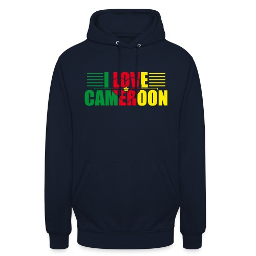love cameroun - Sweat-shirt à capuche unisexe