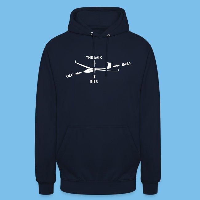 lustiger Segelflieger Spruch Pilot Geschenkidee