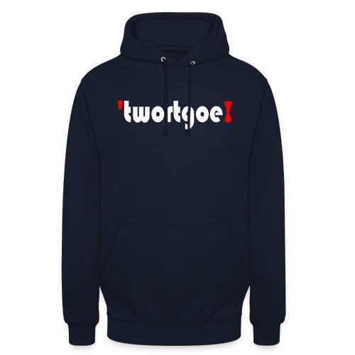 logo_wit - Hoodie unisex