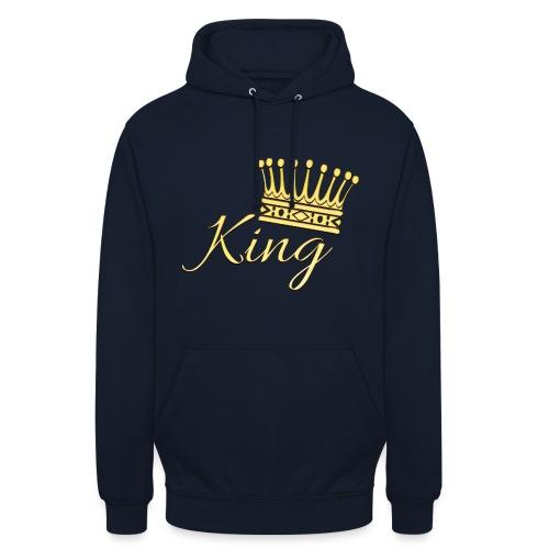 King Or by T-shirt chic et choc - Sweat-shirt à capuche unisexe