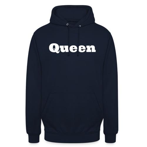 Snapback queen zwart/blauw - Hoodie unisex