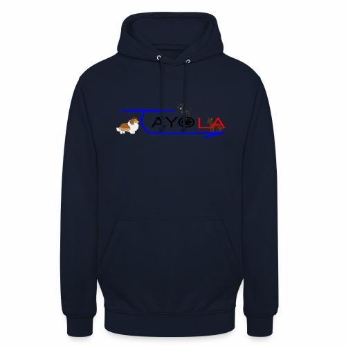 Tayola Black - Sweat-shirt à capuche unisexe