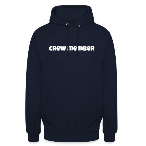 crew member snapback - Hoodie unisex