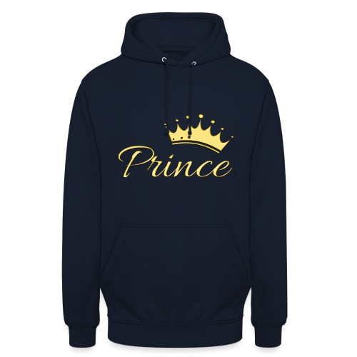Prince Or -by- T-shirt chic et choc - Sweat-shirt à capuche unisexe