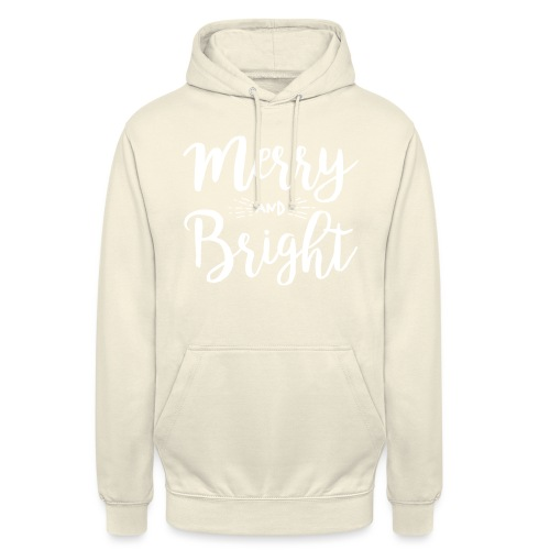 Merry and Bright - Unisex Hoodie