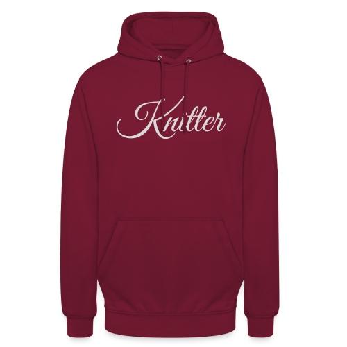 Knitter, light gray - Unisex Hoodie