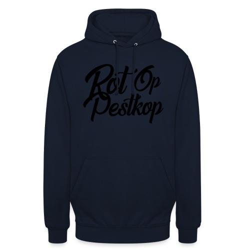 Rot Op Pestkop - Curly Black - Hoodie unisex