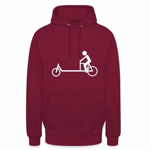 Biporteur - Sweat-shirt à capuche unisexe