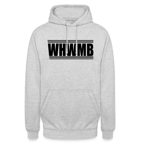 WHWMB - Sweat-shirt à capuche unisexe