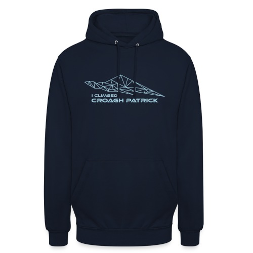 I climbed Croagh Patrick Geometric Design - Unisex Hoodie