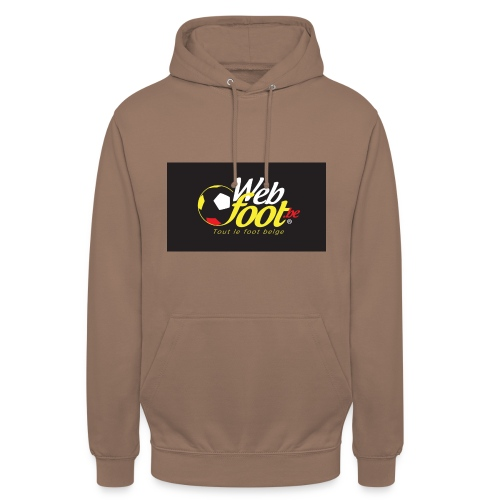 webfoot.be - Sweat-shirt à capuche unisexe