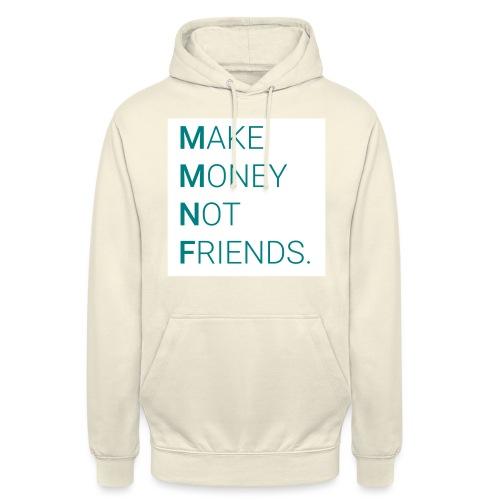 Creando Dinero sin amigos - Sudadera con capucha unisex