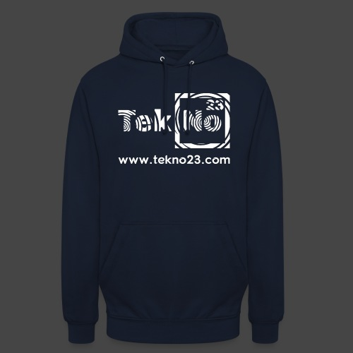 tekno 23 - Sweat-shirt à capuche unisexe