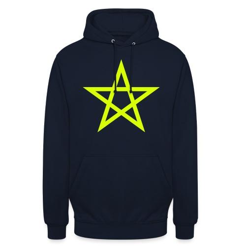 Pentagramme Wicca - Sweat-shirt à capuche unisexe