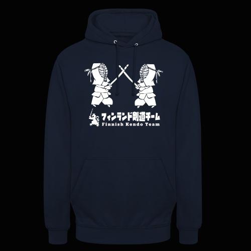 """fka team logo white - Huppari """"unisex"""""""