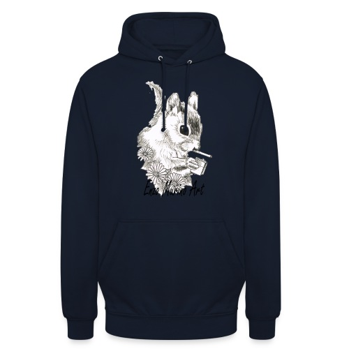 Ecureuil la clope - Sweat-shirt à capuche unisexe