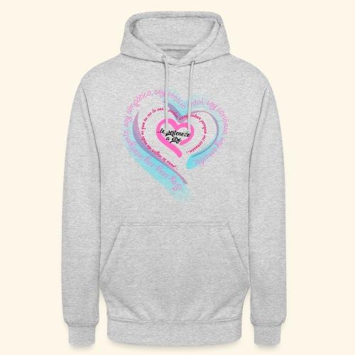 Corazón Ajeno - Sudadera con capucha unisex