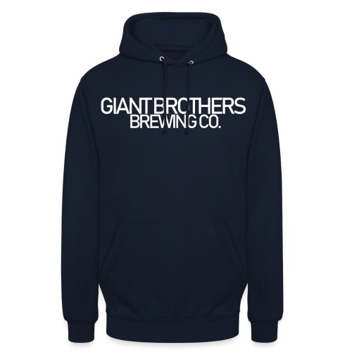 Giant Brothers Brewing co white - Luvtröja unisex