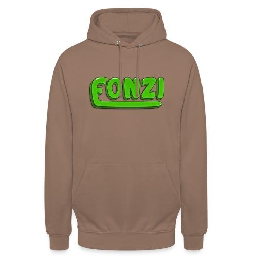 FONZI Official Logo - Felpa con cappuccio unisex