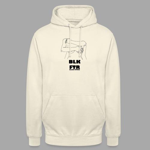 BLK FTR N°3 - Felpa con cappuccio unisex