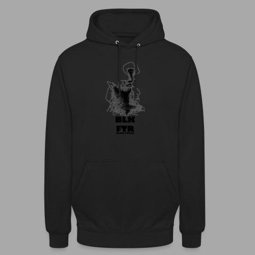 BLK FTR N°5 - Felpa con cappuccio unisex