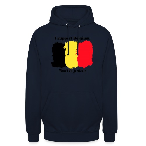 3SB - Edition limitée - I support Belgium - Sweat-shirt à capuche unisexe