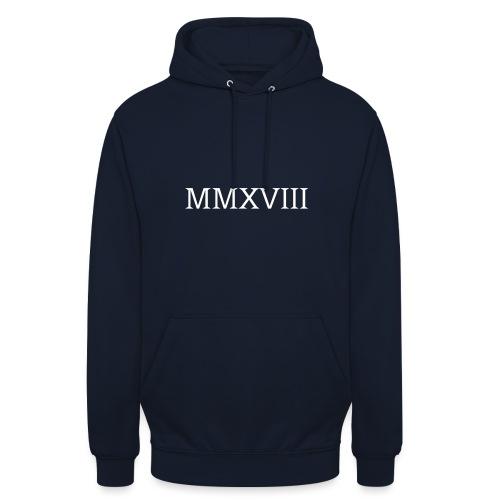 MMXVII - design - Sweat-shirt à capuche unisexe