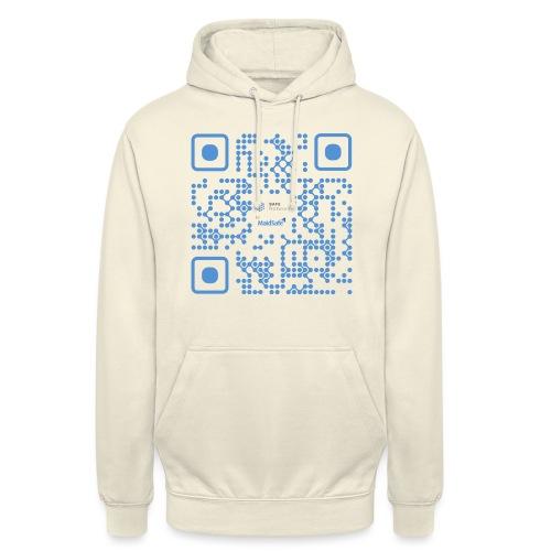 QR Maidsafe.net - Unisex Hoodie