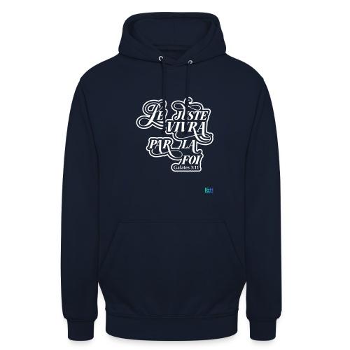 Le juste vivra par la foi - Sweat-shirt à capuche unisexe
